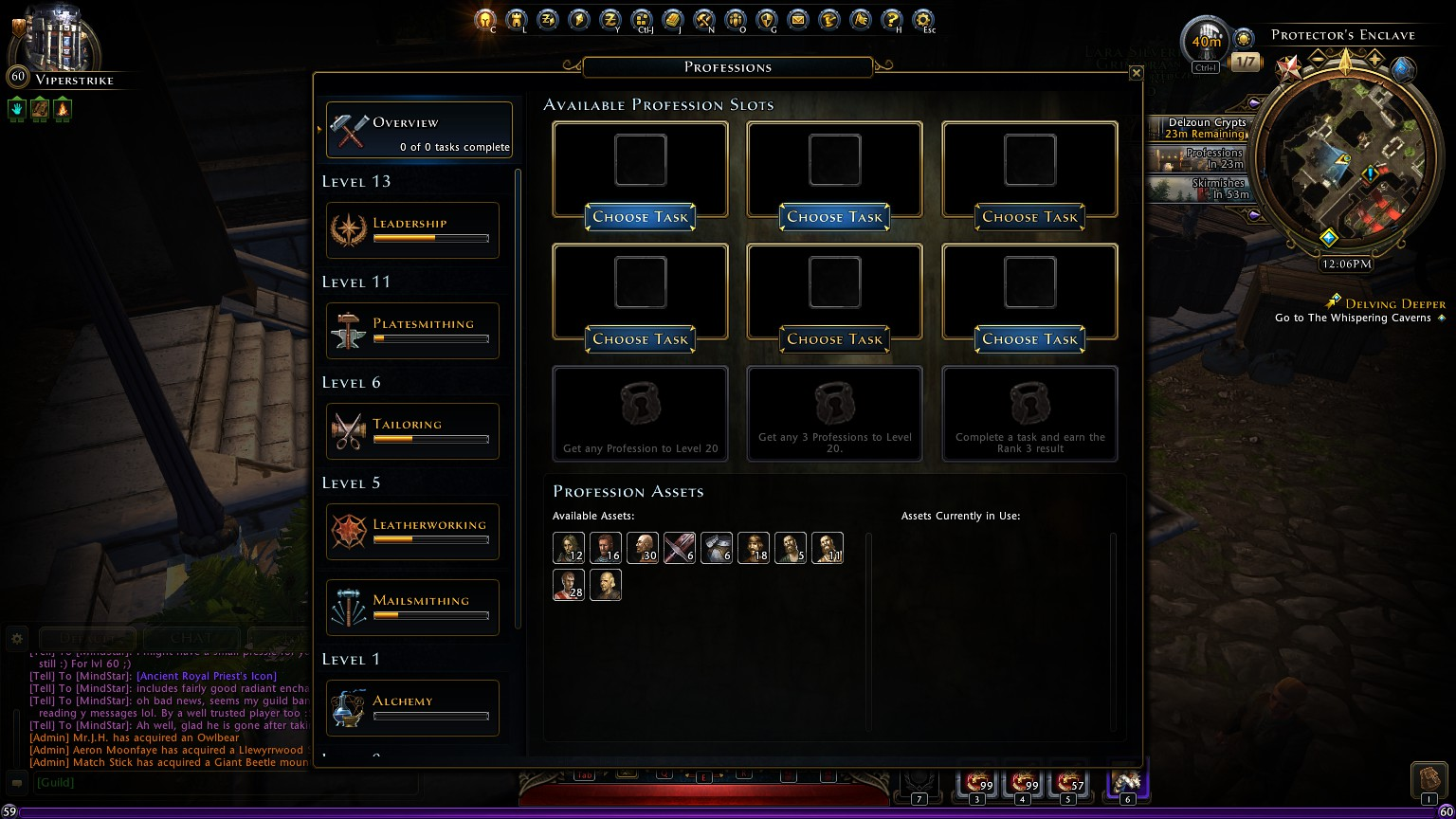 Entropia Universe Crafting Leveling Guide