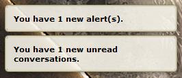 alerts.