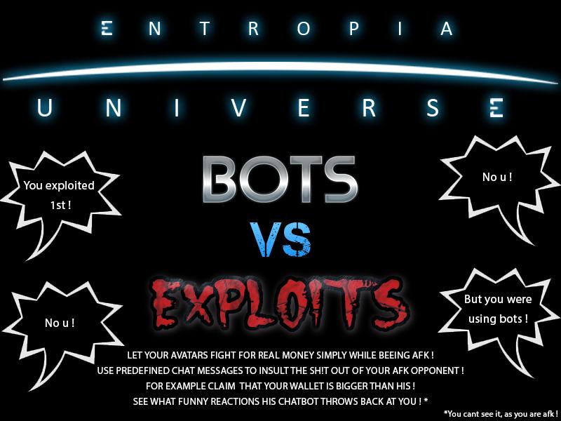 bots vs cheats.