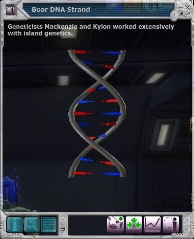 Broken DNA Strand.