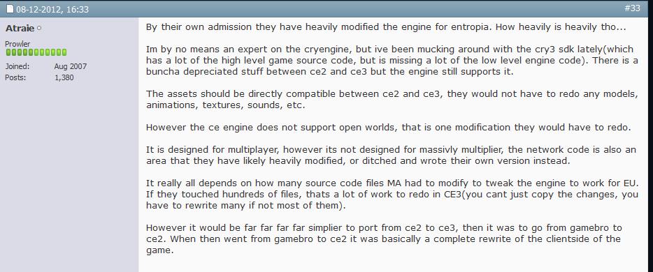 CryEngine 5 5 released | EntropiaPlanets com - Entropia