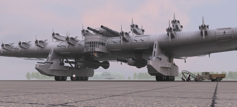 flying fortress.