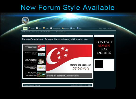 forum style.