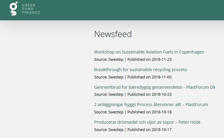 green fund latest news 2018.
