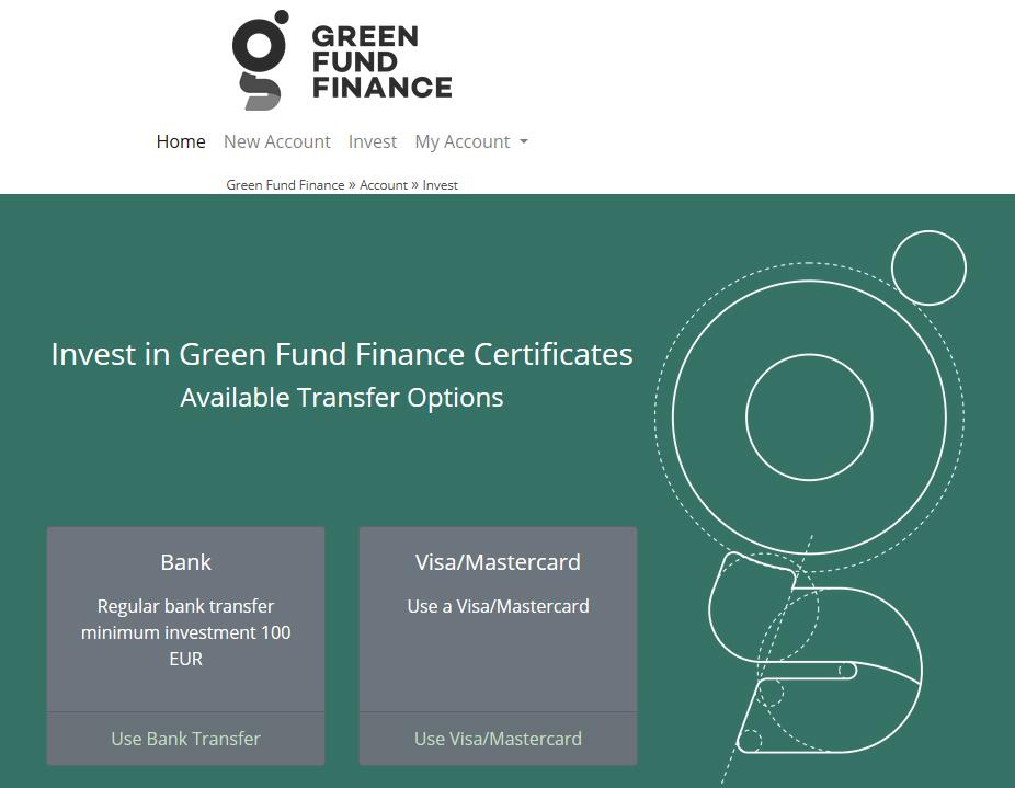 green fund minimum investment 100 euro.