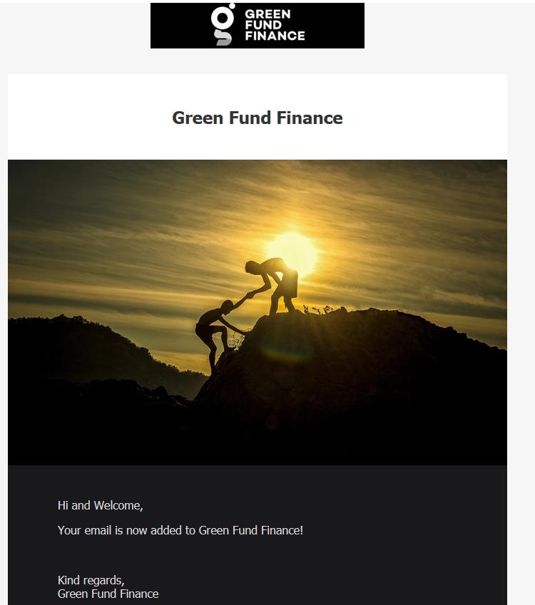 green fund registration.