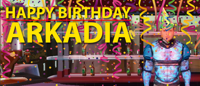 Happy Birthday Arkadia.
