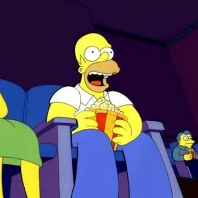 homer popcorn.