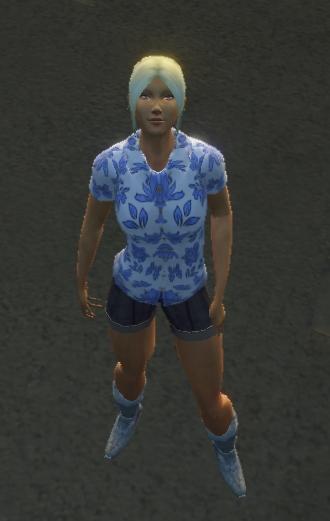island shirt.