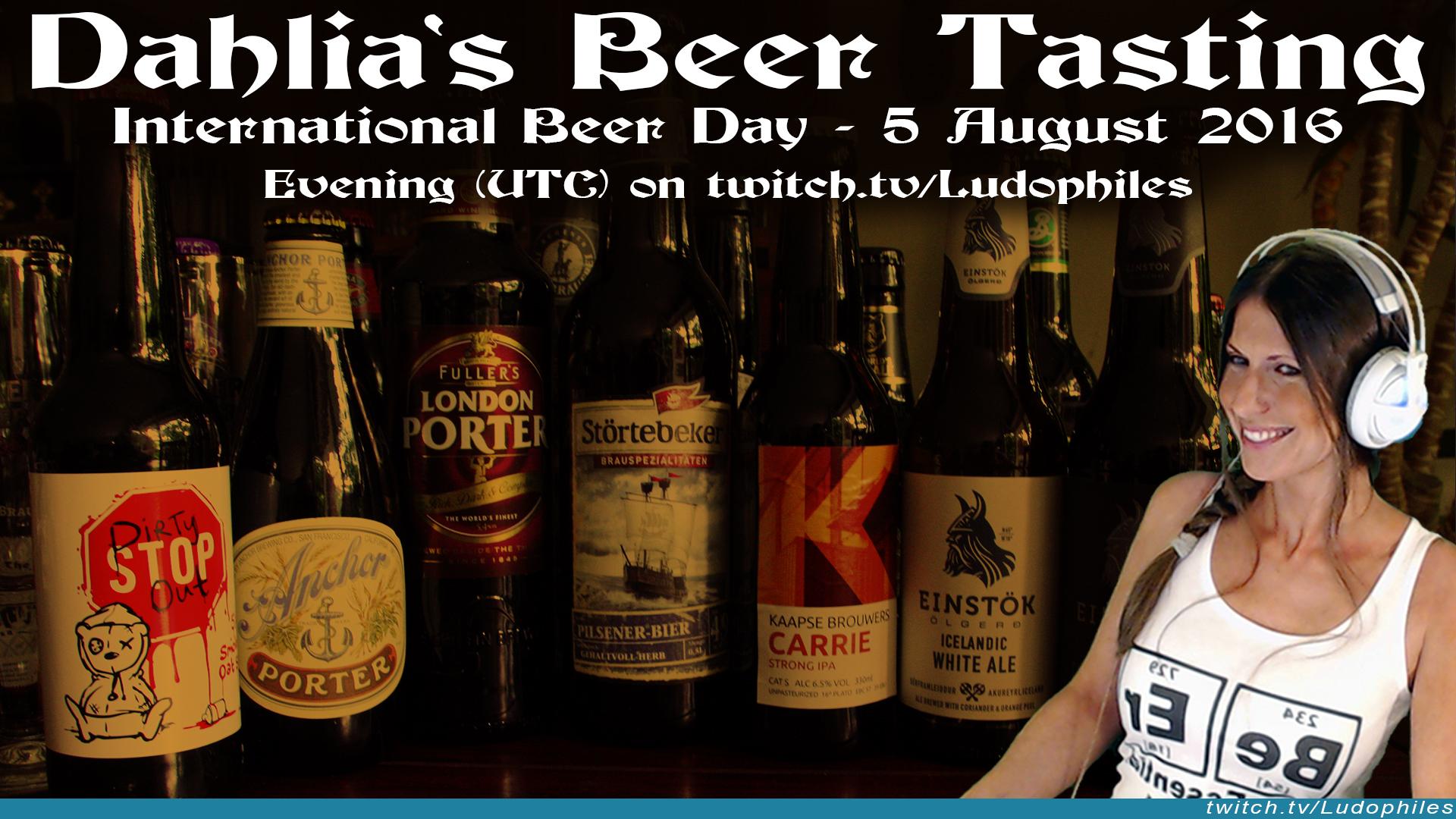 Ludophiles-Dahlia-International-Beer-Day-Beer-Tasting-Twitch.