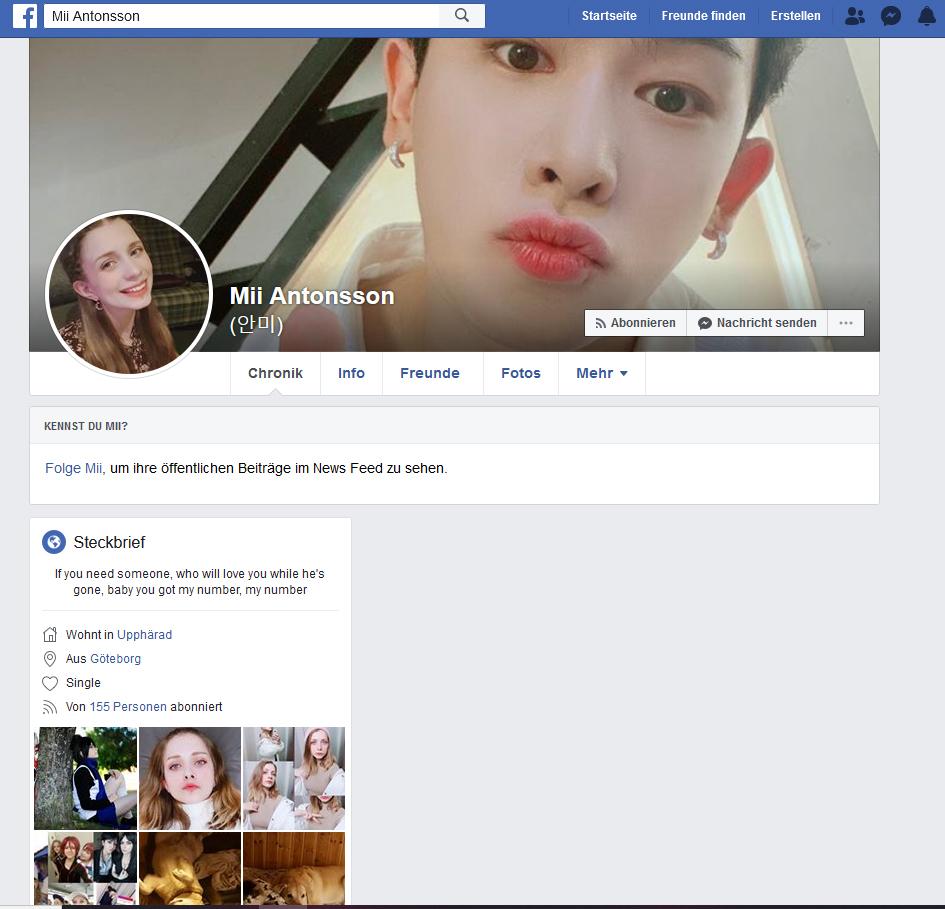 mii facebook.