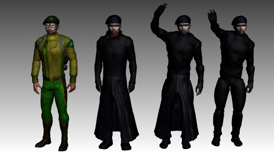 Prophet 4x Outfits.