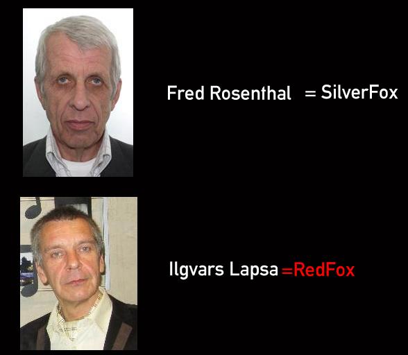 silverfox redfox.