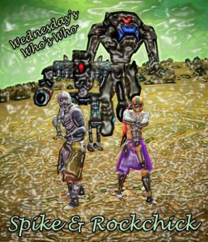 Spike Rockchick - Mr Mrs Disturbed 01.