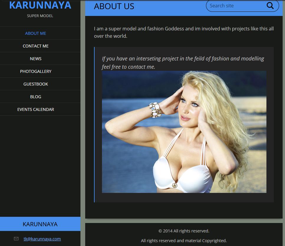 tk karunnaya dot com.