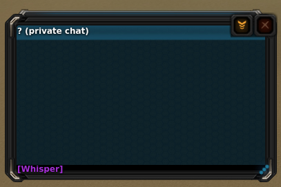 unknown chat.