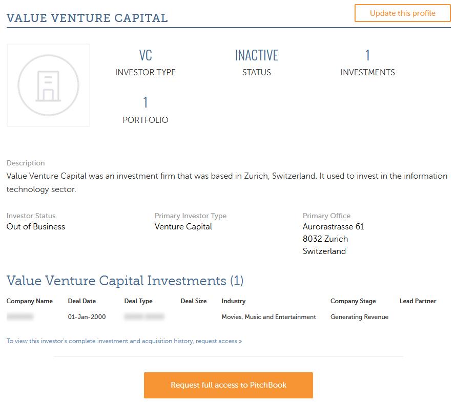 value venture 1.