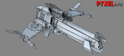 Theryon Wars Fighter Wireframe 3D Model 01.png
