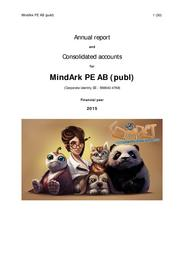 MindArk Annual Report 2015.pdf